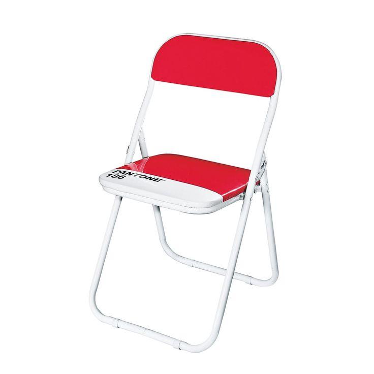 Chair in metal and PVC red mod. Pantone, Seletti. // Silla en metal y PVC rojo mod. Pantone, Seletti. // Sedia in PVC e metallo rosso mod.Pantone, Seletti. #chair #silla #sedia #pvc #steel #acero #acciaio #seletti