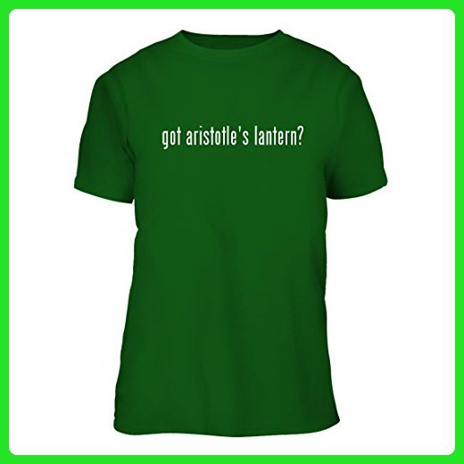 got aristotle's lantern? - Adult Men's Soft T-Shirt Brand New Short Sleeve Tee, Green, Medium - Superheroes shirts (*Amazon Partner-Link)