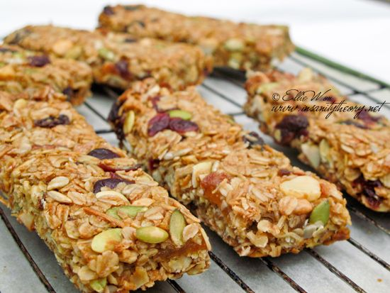 this one looks like the best muesli bar recipe so far! Morning muesli pick-me-up