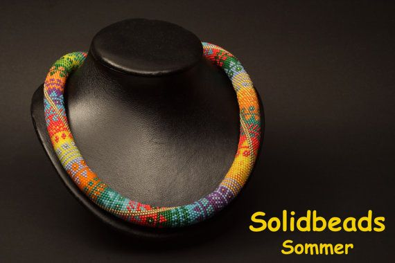 Summer  Necklace Pattern by Solidbeads on Etsy, €5.00
