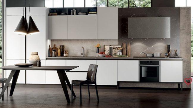 Cucine Lineari Moderne Padova Anche In Offerta Trova La Tua Cucina Moderna Lineare Da Arredamenti Me Arredo Interni Cucina Interni Della Cucina Cucine Moderne