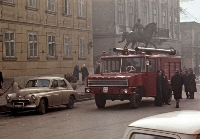 Ikarus 526-os tűzoltóautó