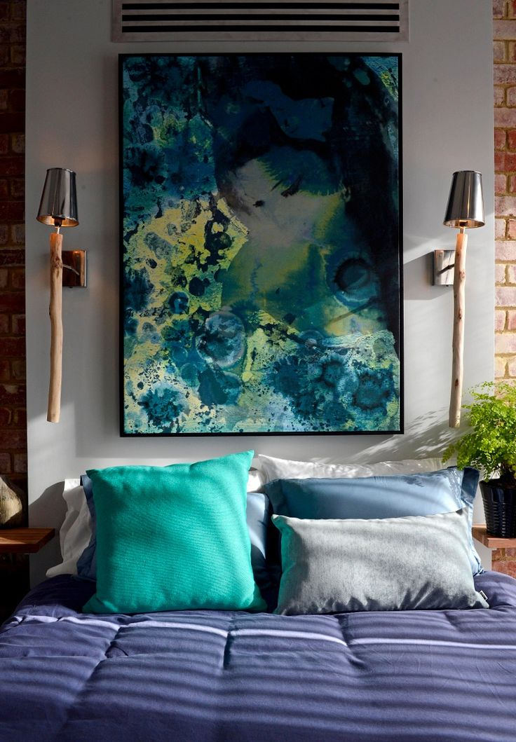 Artwork   Portrait of Amy Winehouse after Klimt (Blue)   Limited Edition by Sue Quinn   The Block Shop - Channel 9 #InteriorDecorating #HomeFurnishings #DecoratingIdeas #InteriorDesignIdeas #DIYDecorating #Homewares #Channel9 #TheBlock #TheBlockShop #AlysaandLysandra #FansvsFaves