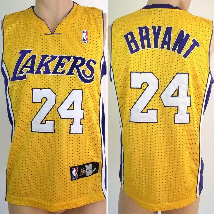 NBA jersey ADIDAS Los Angeles LAKERS Kobe Bryant #24 Large L Basketball vest