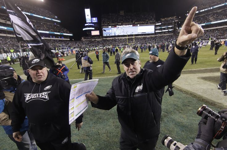 Head coach Doug Pederson, who somehow received only one vote for NFL Coach of the Year, spoke to NBC's Michele Tafoya outside the Philadelphia Eagles locker room three hours before kickoff and revealed what he would say to his underdog squad just before the 6:30 p.m. kickoff of Super Bowl LII against the New England Patriots.