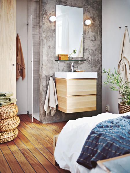 Die 25+ besten Ikea waschbeckenunterschrank Ideen auf Pinterest ... | {Badmöbel holz ikea 65}