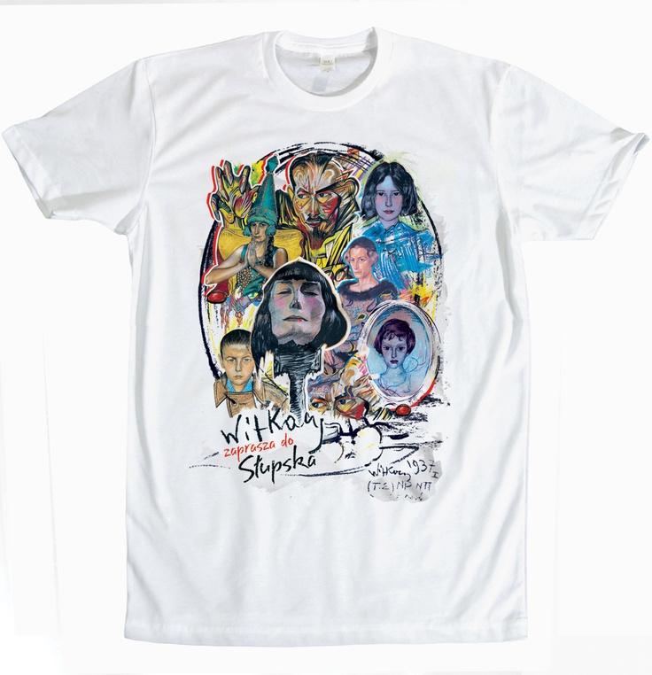 #tshirt #design #RioCreativo #Slupsk #koszulka #Witkacy #StanislawIgnacyWitkiewicz