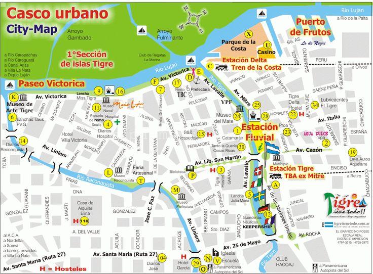 Ms de 25 ideas increbles sobre Mapas de la ciudad en Pinterest