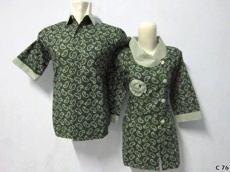 Kemeja Batik C76 | IDR 120.000 | bahan : Katun | Size M, L, XL | Order : 081333303545