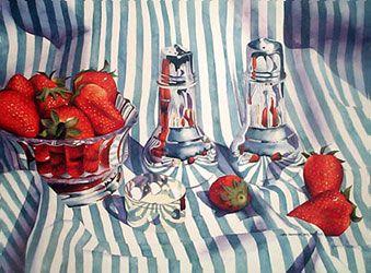 Chris Krupinski - Silver, Strawberries, and Stripes
