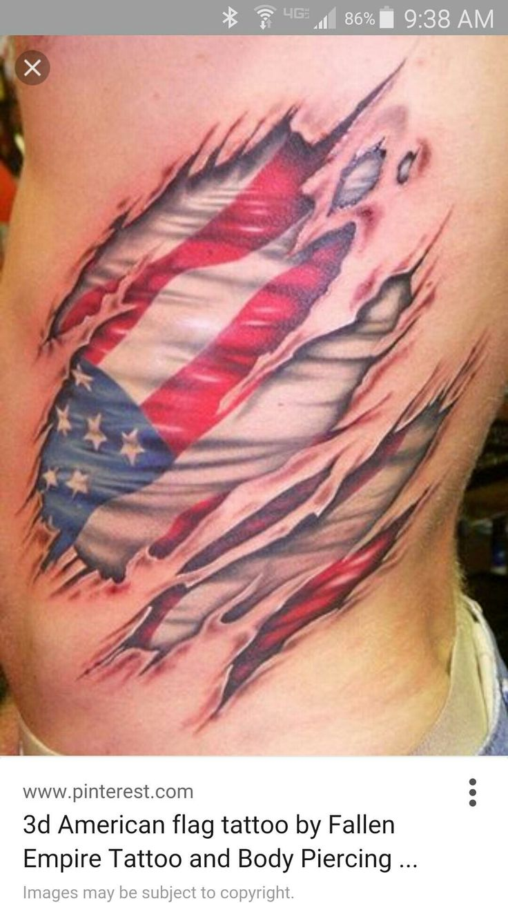 Name canadian flag ripping through skin tattoo designjpg pictures - Rippped Skin American Flag Ripped Skin Reveals An American Flag Tattoo