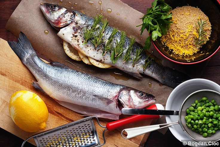 Sea Bass with Lemon Couscous