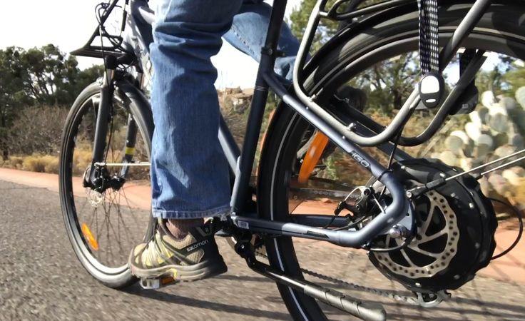 iGO eXplore Electric Bike Review Part 2: Ride & Range Test [VIDEO]