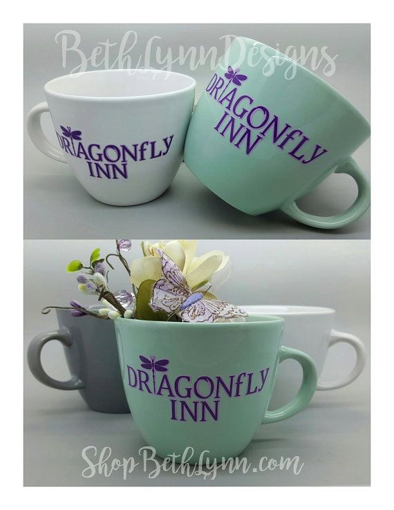Dragonfly Inn Inspired Big Mug by BethLynnDesigns on Etsy
