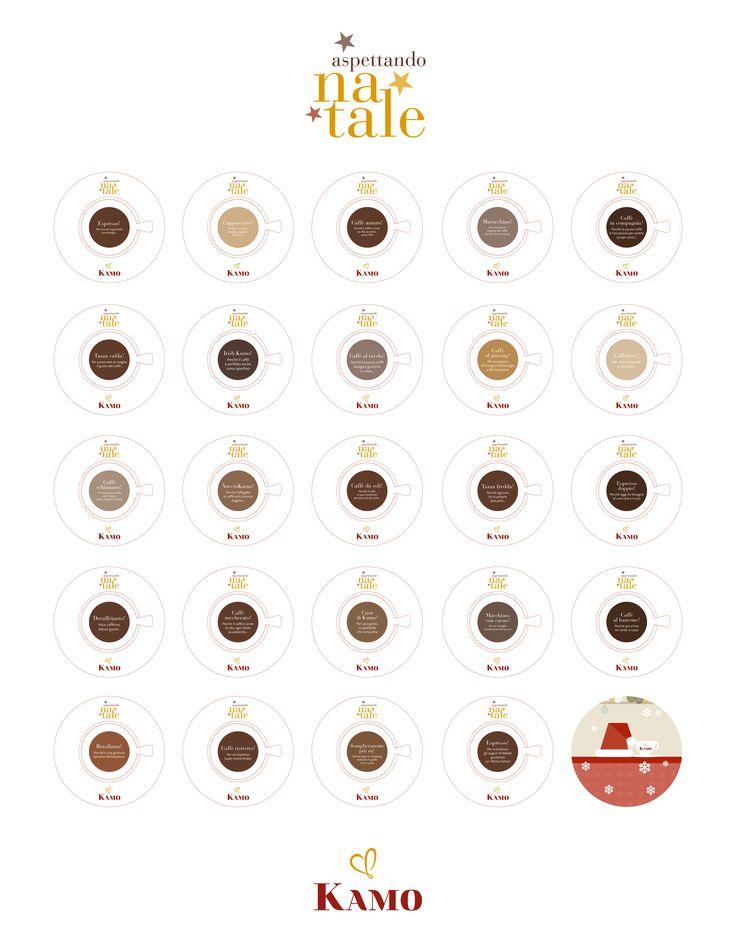 Il nostro speciale Calendario dell'avvento ha segnato il conto alla rovescia per il Natale, accompagnandoci ogni giorno con un Kamo diverso. Perché ci sono tanti modi per degustare il caffè, ma ricordate: l'importante è che sia Kamo!