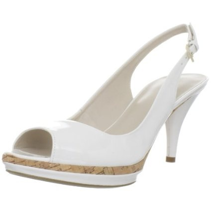 The Sharina pump. I don't wear a lot of white shoes, but these are fab.