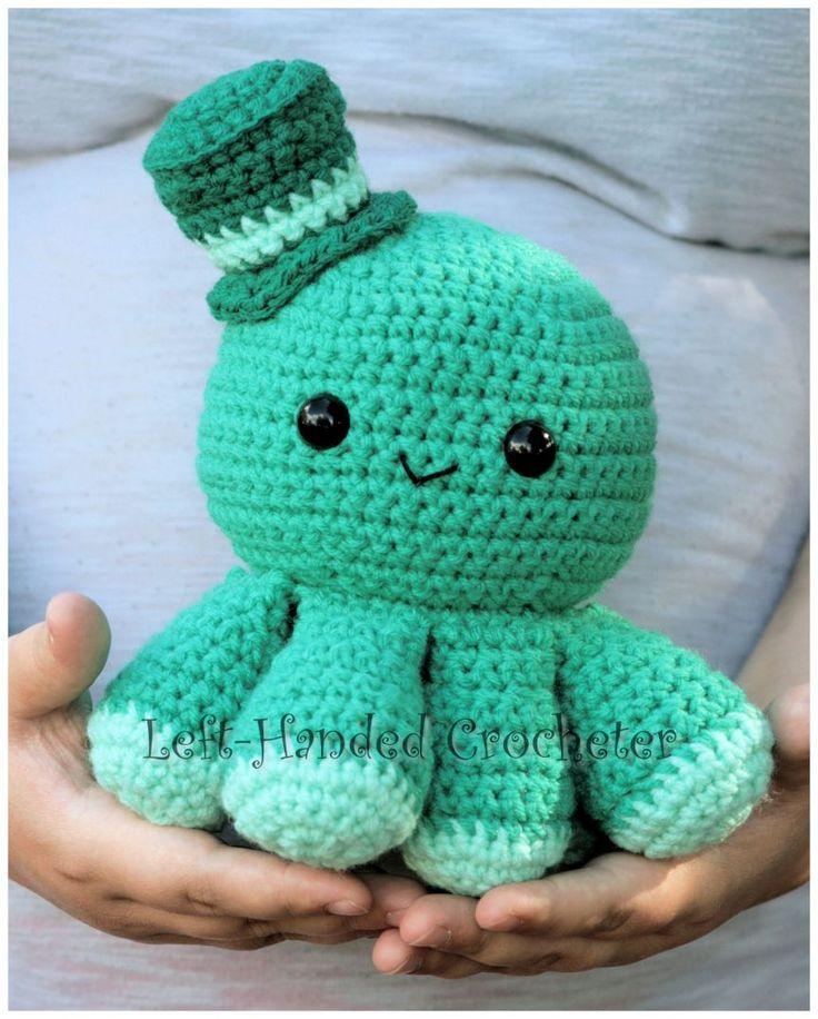 Crochet Amigurumi Octopus Tutorial : 25+ best ideas about Crochet Octopus on Pinterest ...