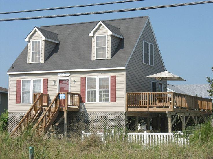 Sandbridge Beach House Rental: 4 Bedroom, Cape Cod With Pool, 100 Yds To Beach/ A 100 Metres De La Plage | HomeAway