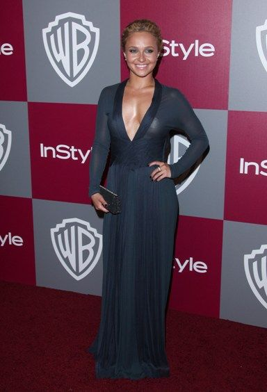 Celebs hit the InStyle WB Golden Globes party