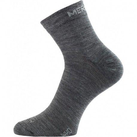 WHO 800 šedá merino ponožka