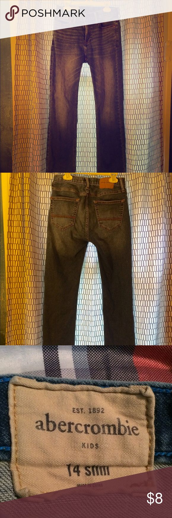 Abercrombie Jeans for Kids Size 14 Slim Soft jeans, size 14 slim kids. Gently used. Abercrombie & Fitch Bottoms Jeans