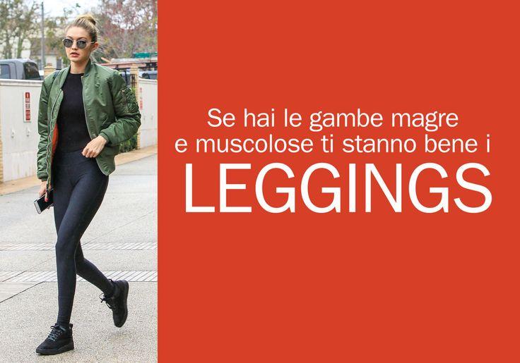 Se hai le gambe magre e muscolose...