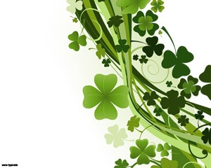 Free St. Patrick's day PowerPoint template background for presentations