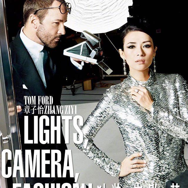 ¡Buenos días! @tomford y la actriz #ZhangZiyi protagonizan el número de junio de #VogueFilmChina, una edición de @voguechina que celebra la moda y el cine a través de editoriales, con el trabajo del propio #TomFord como fotógrafo #fashion #movies #China #actress #photography #magazines #vistelacalle #vlc