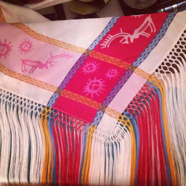 Samiske silkesjal