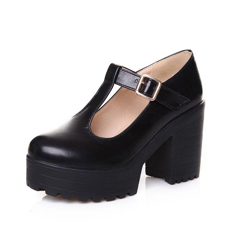 Milesline Fashion Women S T Strap Flat Mary Jane Shoes