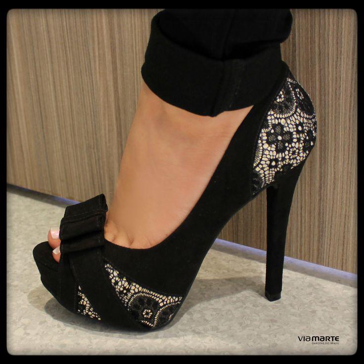 salto alto - peep toe - heels - inverno 2014 - Ref. 14-6406