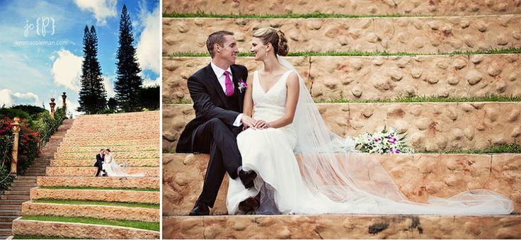 Valle Escondido Wedding Photography Boquete Panama Destination Wedding Photographer Bride and Groom Portraits