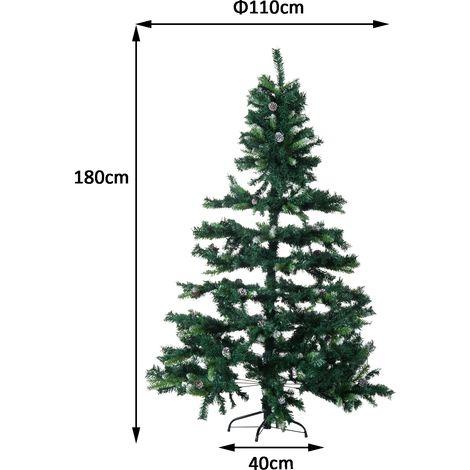 resultado de imagen para arbol navidad artificial medidas