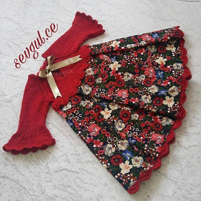 (Ortak yapim) saglikla huzurla kullanilsin  @gukavraz  . . Fiyat bilgisi eski paylasimlarda mevcuttur.kullanilan kumas PAZEN DEGIL❌ FITILLI KADIFEDIR.✔#örgüelbise #vintagedress #vintagestyle #vintage #knitting #knitdress #hobinisat #dress #strik #yarn #crocheting #shabbychic #babyshower #bebekorguleri #shabbystyle #shabbydress #cute #örgü #sevgulceyleorguelbise #siparis #sewing #özeldikim #cocukelbise #cocukgiyim #bukombin #otantik #otantikelbiseler #handmade #handmadewithlove