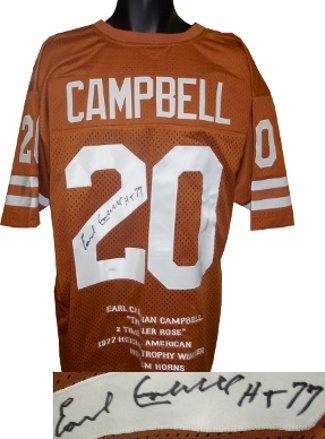 san francisco 0018e a69ab mens texas longhorns 20 earl campbell burnt orange throwback ...