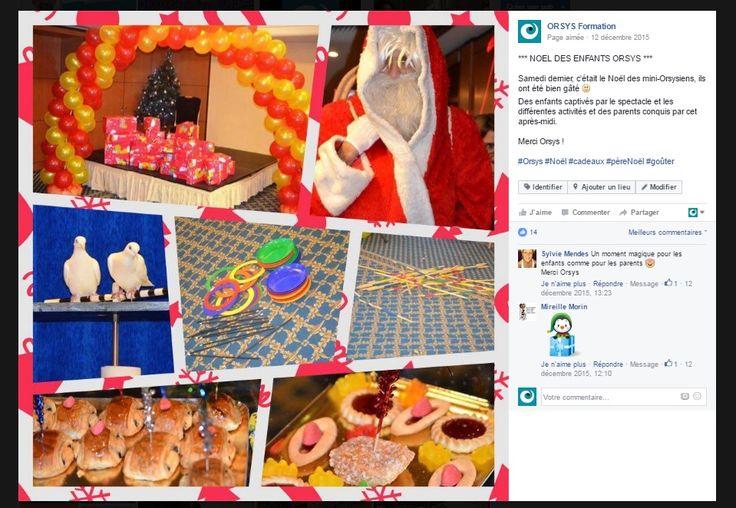 Cohésion d'équipe – Evénements internes - Célébrations / Noel des enfants 2015 Découvrez nos offres d'emploi : http://www.orsys.fr/?mode=recrutement