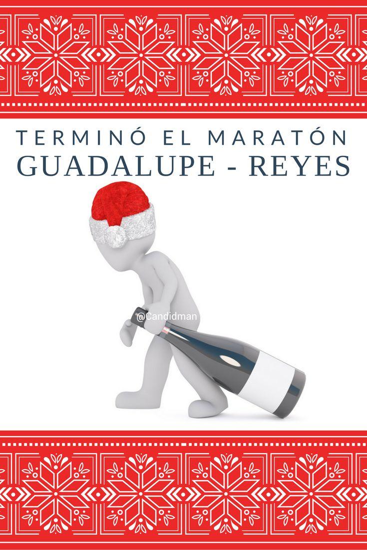 """Terminó el #Maraton #GuadalupeReyes"". @candidman #Frases #Humor #MaratonGuadalupeReyes #LupeReyes #MaratonLupeReyes #Guadalupe #Reyes #DiaDeReyes #Candidman"