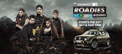 Renault Mtv Roadies Rising 26th February 2017 HDTVRip 480p 200mb