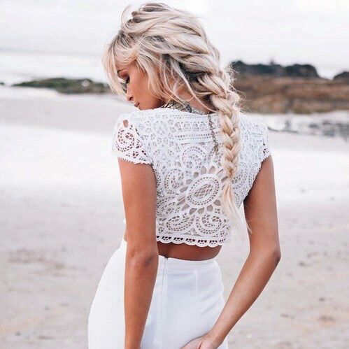 lose blonde french braid                                                                                                                                                                                 More