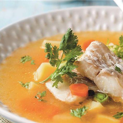 Χειμωνιάτικη, αχνιστή και πεντανόστιμη σούπα που αναδεικνύει τα θαλασσινά αρώματα. Δοκιμάστε τη!