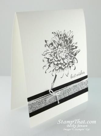 Stampin' Up! Blooming with Kindness Card by Becky Jensen for Stamp That!
