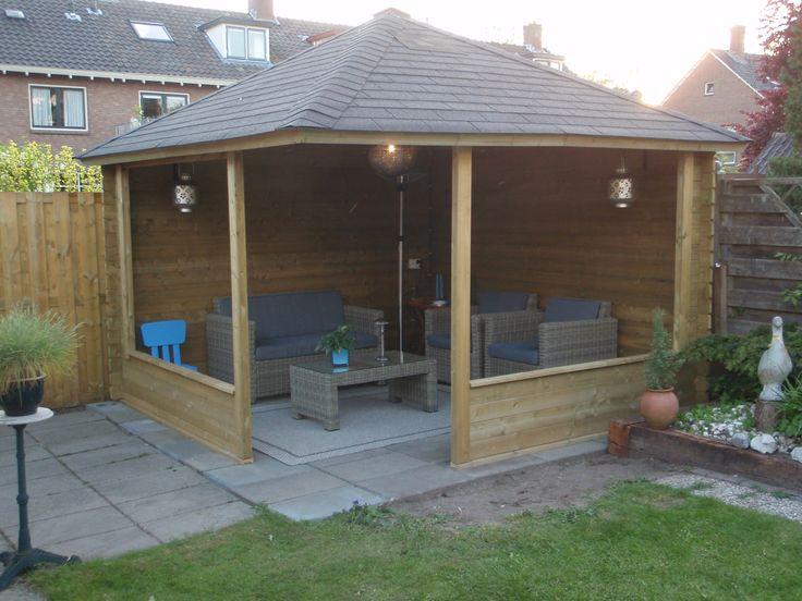 10 beste idee n over tuin poorten op pinterest tuinhek poorten en tuin ingang - Prieel frame van ...