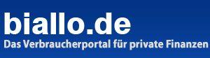 Biallo.de - Das Verbraucherportal für private Finanzen