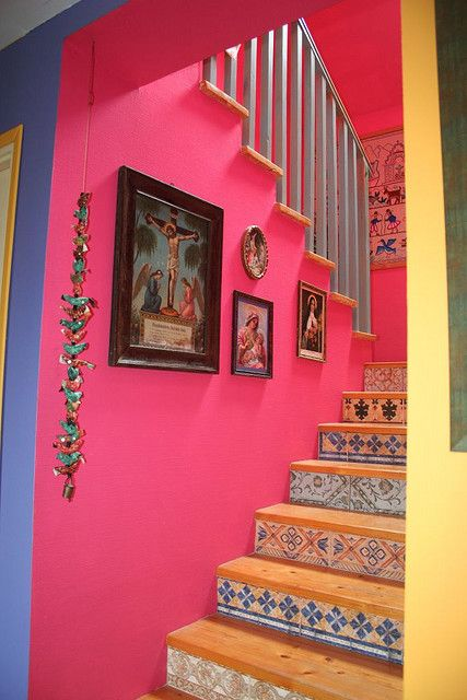 wow...lovely stairs x