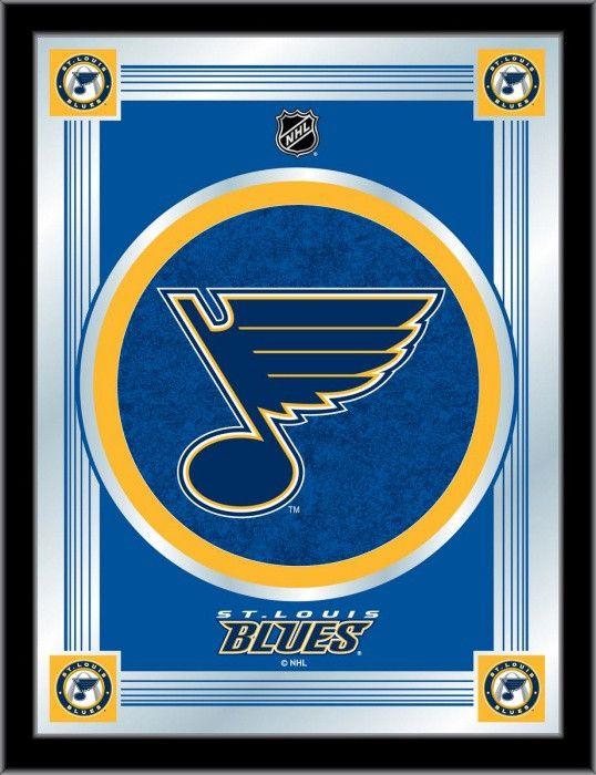 St. Louis Blues NHL Logo Mirror - Visit SportsFansPlus.com for Discount Coupon!