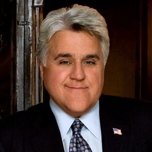 Jay Leno's chin looks big because it takes up more than two-thirds of the distance from the bottom of the chin to the bottom of the nose.