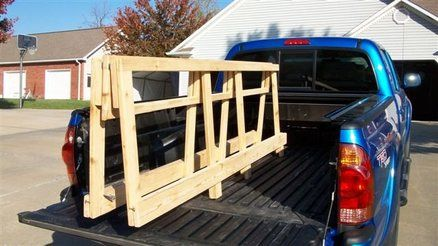 Plywood Rack For Truck Woodworking Projects Amp Plans