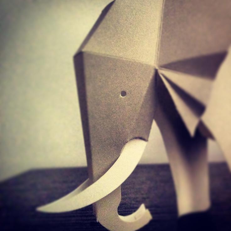 #elephant #paperart #duarte