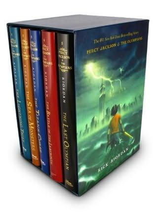 Percy Jackson series - Rick Riordan. I don't care if its for kids, it was great!
