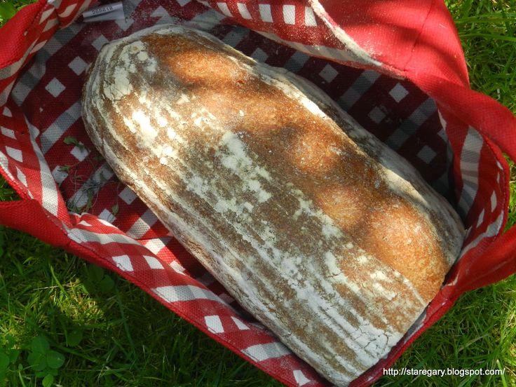 Stare Gary: Chleb Młynarza z mąka pełnoziarnistą i kminkiem